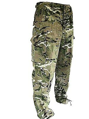 MTP Windproof Trousers British Army Surplus Multi Terrain Pattern Combat Camo