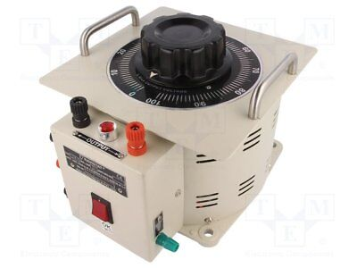 Variable autotransformer; 230VAC; Uout:0÷260V; 12A; 15.5kg (1 pcs)