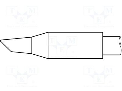 Tip; conical sloped; 3.5mm; longlife[1 pcs]
