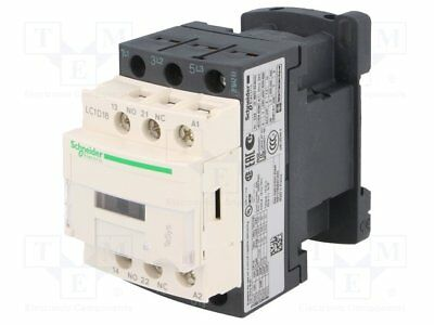 Contactor:3-pole; Auxiliary contacts: NO + NC; 230VAC; 18A; NO x3 (1 pcs)