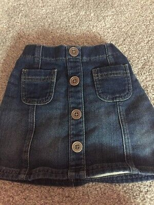Girls Next Denim Skirt 12-18 Months