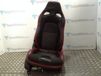 Nissan GT-R Skyline R35 Black edition seat drivers side black red GTR