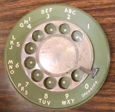 Green Western Electric Rotary Telephone Dialer
