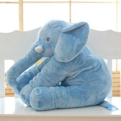 Long Nose Elephant Doll Pillow Sleeping Soft Plush Stuffed Toys for Baby 40/60cm