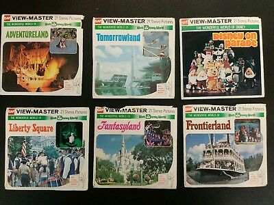 Gaf viewmaster The Wonderful World of Disney Reel Collection