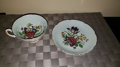 $59 Royal Grafton 1454 Cup And Saucer Set
