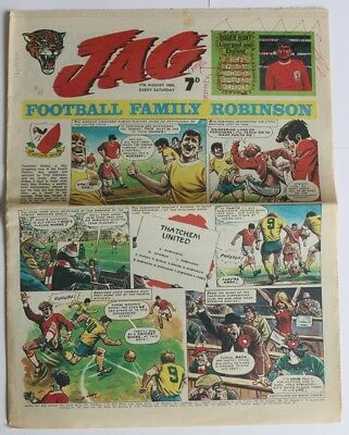 "Rare British Comic ""JAG"" 17th August 1968"