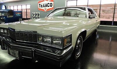 1977 Cadillac DeVille Red Leather 1977 Cadillac Coupe DeVille Classic Car