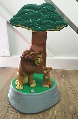 Vintage Disney Rare Lion King Simbas Pride 1998 Talking Moving Money Bank
