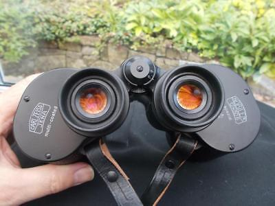 Superb Pair Carl Zeiss Jena Multi Coated Nobilem 12X50B Spezial In Case& Cloth