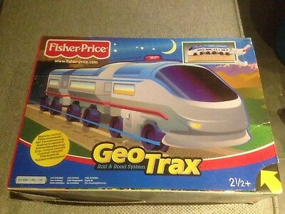 "Fisher Price  -Geo Trax - ICE Zug-""neu"""