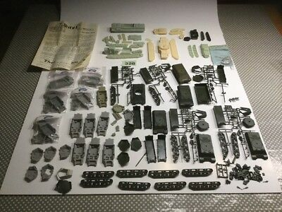 Armourfast 1/72 Achilles Tank Plus Wee Models Resin Upgrades Plus Extras Lot 328