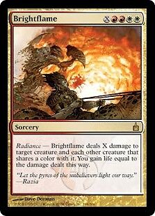 Brightflame (Ravnica: City Of Guilds) - RARE - Helle Flamme