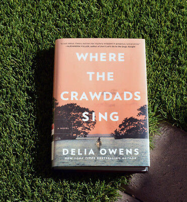 Where the Crawdads Sing by Delia Owens 2018_Hardcover, Freeshipping, Brand New