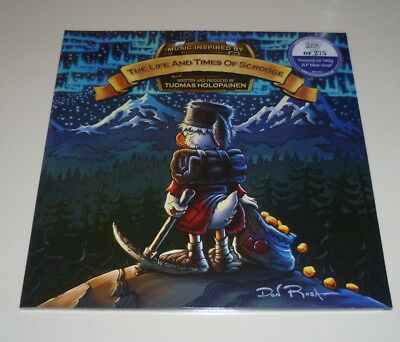 Vinyl 12-Inch Tuomas Holopainen - The life and Times of scrooge - 2 blaue LP