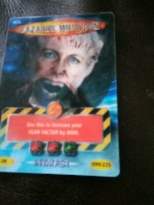 dr who battles in time card number 474 Lazarus mutation