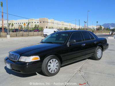 2008 Ford Crown Victoria  2008 Ford Crown Victoria Police Interceptor Cold AC DVD AM/FM CD bidadoo