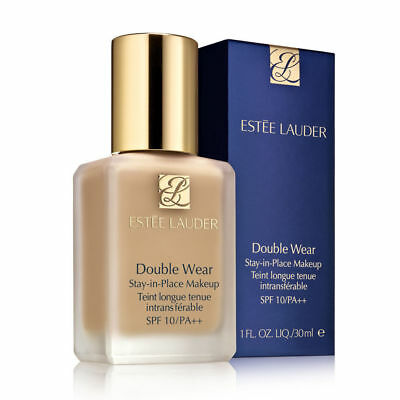 BNIB Estee Lauder Double Wear Stay In Place Face Liquid SPF 10 Foundation 30ml