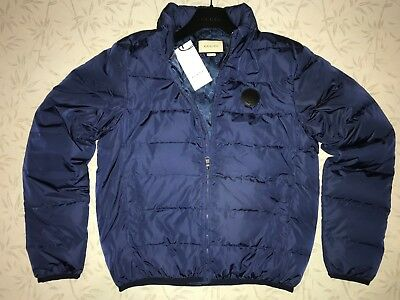 Gucci  jacket down bomber blue Size 52  L  XL  Made in Italy