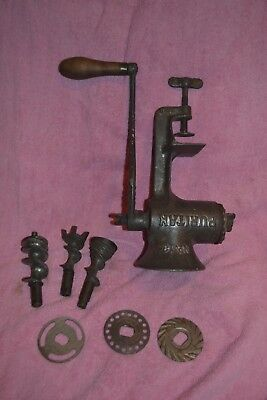 Early 1900s PURITAN No 13 MEAT GRINDER - Griswold Mfg. Co. - Erie, PA
