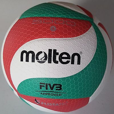 Molten Authentic V5M5000 Official Volleyball PU Leather FIVB NORCECA APPROVED