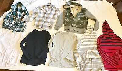 Boys size 7/8 Lot Of 8 The Children's Place Shirts And Sweatshirt