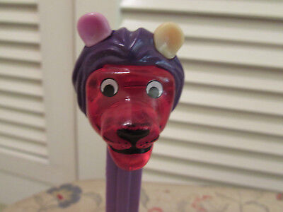 Pez - Misfit Lion - Colored Crystal Head -Mix Match Colored Ears - HTF