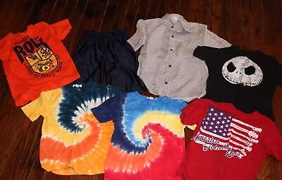 Size 5/6 Boys lot of 7 clothing Lands End, Children's Place, Crazy 8 & Old Navy