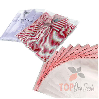 Plastic Re-sealable Shirts Garments Cellophane Bag Self Seal Premium Quality