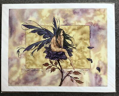 Amy Brown Prints Butterfly Tattoo, Firedance, Dark Enchantment, Fairies, Fairy