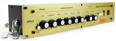 Bellari RP533 Tube Mono Mic Preamp Compressor Limiter Exciter + Top + Garantie