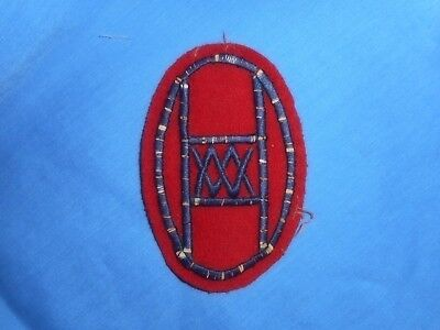 WWI 30th Infantry Division Wool patch. original.