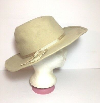 1964-65 New York World's Fair Official Visitor Arlington Wool Cowboy Hat, L