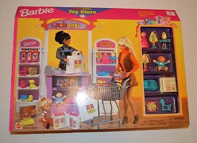 1998 Vintage Barbie Kb Toys Toy Store Collection 67793 92 200 00
