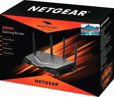 Netgear XR500 Nighthawk Pro MU-MIMO 802.11ac Wireless Gaming Router