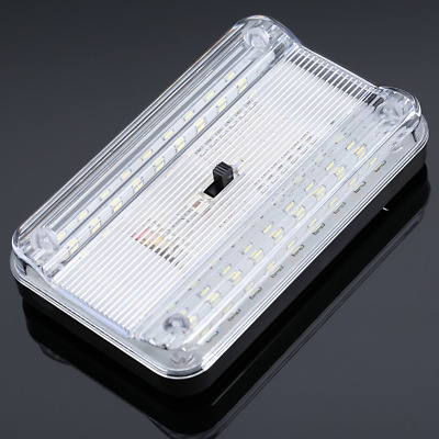 LED Car Vehicle Interior Dome Roof Ceiling Reading Trunk Light Lamp 12V 36