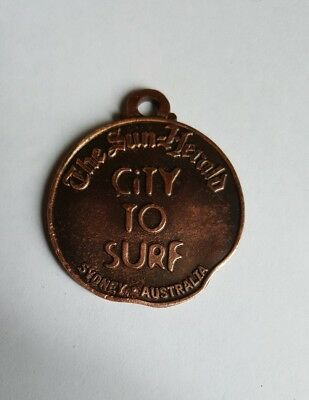 CITY TO SURF MEDAL - I FINISHED - 9th AUGUST 1998