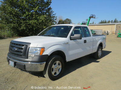 2012 Ford F-150XL  2012 Ford F-150 4WD Extended Cab Pickup Truck Automatic Ford Sync A/C bidadoo