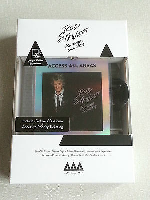 Rod Stewart Another Country Access All Areas Edition Cd & Download & Lanyard New