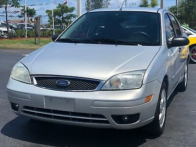 2006 Ford Focus  2006 Ford Focus ZX4 SES 4dr Sedan 98K Miles One Owner 2.0L I4 *FLORIDA OWNED*