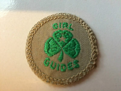 Girl Guides / Scouts Green Trefoil
