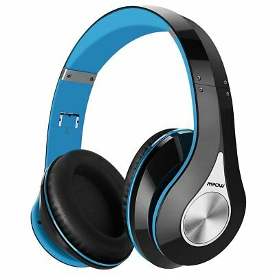 Mpow 059 Blue Bluetooth Wireless Headphone Hi-Fi Stereo Headset Earphone & Mic