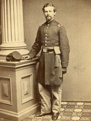 Cdv Union Officer With Sword Belt And Sash