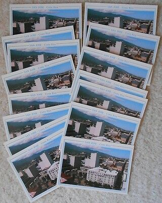 dealer? trader?  this is for you!  SAN JOSE COSTA RICA  postcards #21