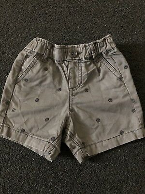 Country Road Baby Boys Grey Shorts Size 12-18 Months