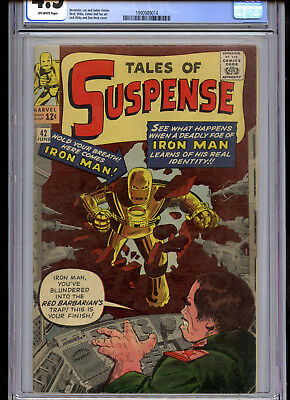 Tales of Suspense #42 CGC 4.5 Off White Pages