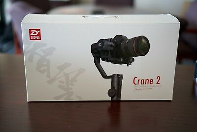 Zhiyun Crane 2 3-Axis Handheld Stabilizer Gimbal (With no Follow Focus)