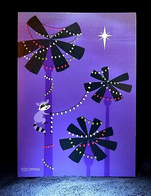 """SHAG Rare 2015 """"LET YOUR LIGHT SO SHINE..."""" Christmas Greeting Note Card - NEW"""