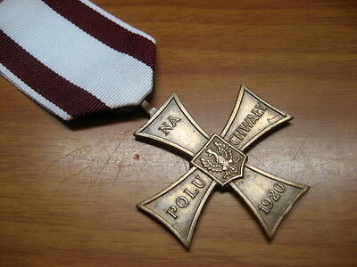 Poland Polish Medal Cross of Valour 1920 London