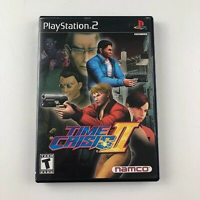 Time Crisis II/2 (Sony PlayStation 2, 2001) Complete Free Shipping